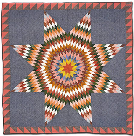 Lone_star_from_quilts