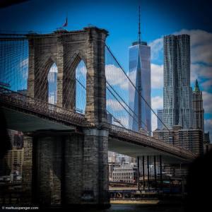 Brook;lyn Bridge by Markus Spenger Photography
